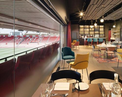 1885 Lounge at St Mary's Stadium celebrates Southampton FC's history
