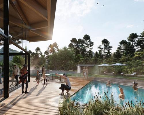 'Sourced from the mountain, powered by the sun', recycled glacial-water thermal experience confirmed for New Zealand