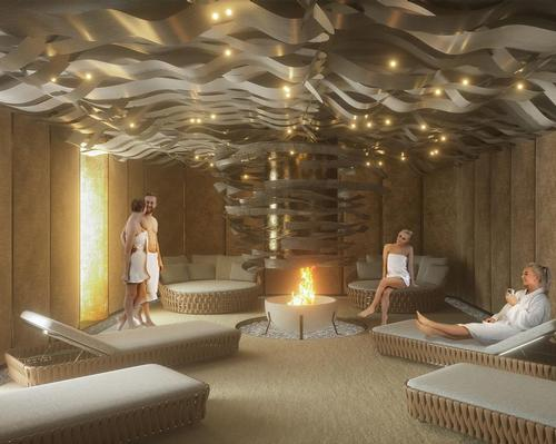The three-layer 1,000sq m facility will form part of a boutique-hotel complex at the five-star Palazzo Bernasconi hotel