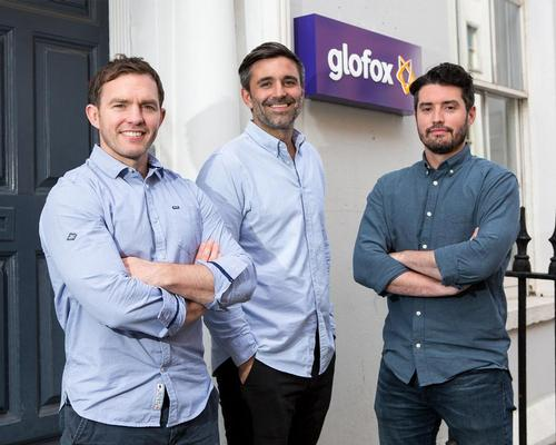 Glofox co-founders Conor O'Loughlin, Anthony Kelly and Finn Hegarty