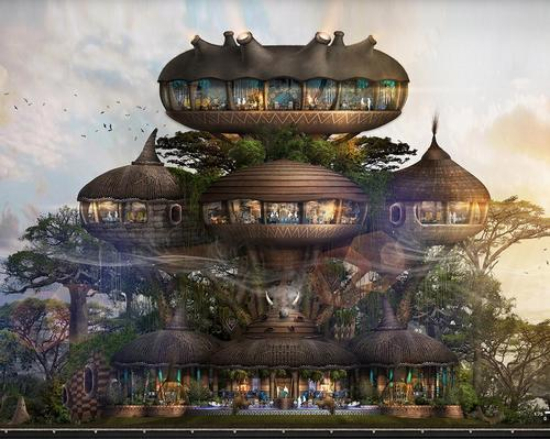 One of the African Wild World hotels will be named Colony and will be operated by Hilton