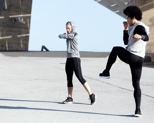 People can now exercise with up to one person from outside their household – opening an opportunity for one-to-one personal training / Shutterstock/Joseph Suria