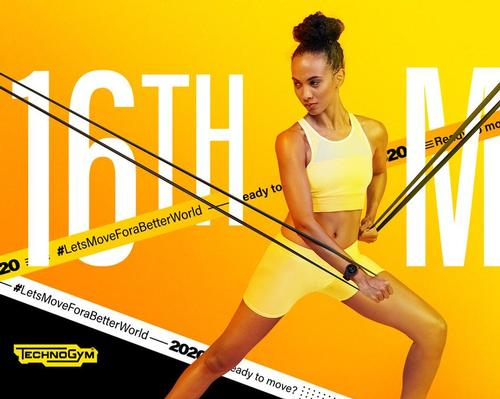 Technogym pivots 'Let's Move for a Better World' campaign to digital