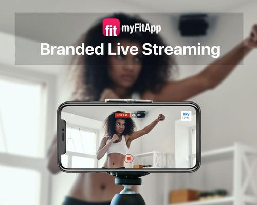myFitApp live-streaming doesn't rely on third party web conferencing or social media platforms
