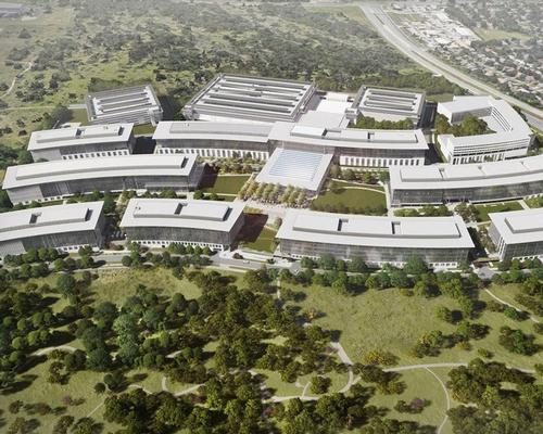 The new Apple campus in Austin will include a six-storey hotel / Apple Inc