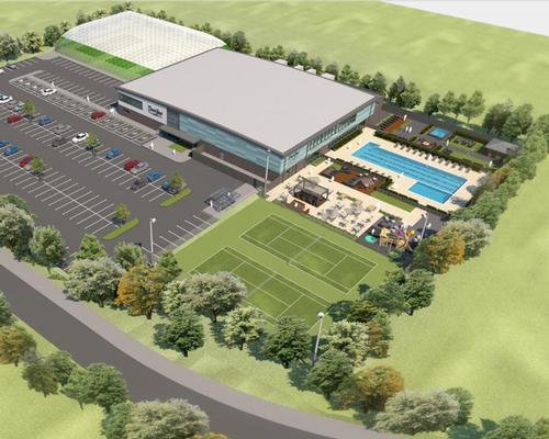 The 6,600sqm development will include a health club and spa as well as indoor and outdoor sports facilities