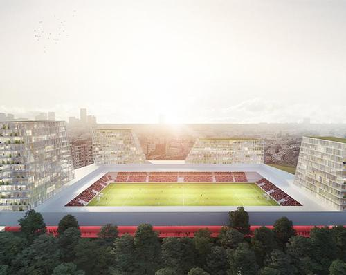 The Moederscheim Moonen plans include expanding the capacity at the stadium from 4,300 to 6,500 to seats / Moederscheim Moonen