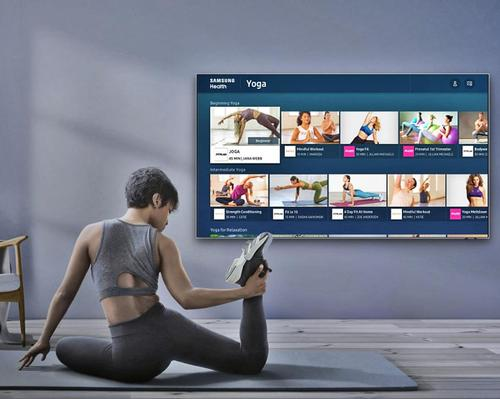 Samsung adds at-home wellness platform to 2020 range of smart TVs