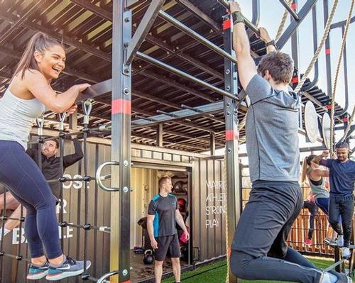 DLL has responded to the lockdown by introducing a range of outdoor workouts, including the newly-launched Battlebox concept / David Lloyd Leisure
