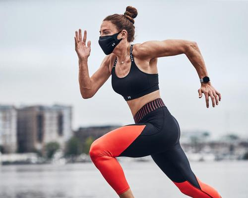 The Under Armour Sportsmask features a unique, three-layer model engineered to offer protection during strenuous fitness training and for athletes during sports