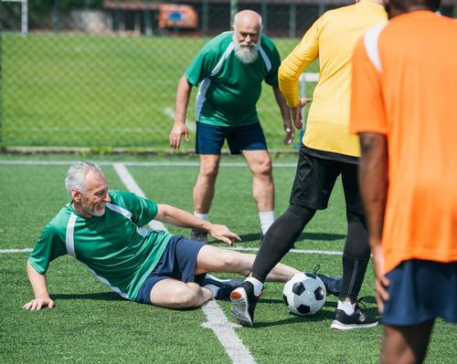 Research: older men who play football regularly have cells up to 11 years younger than inactive peers