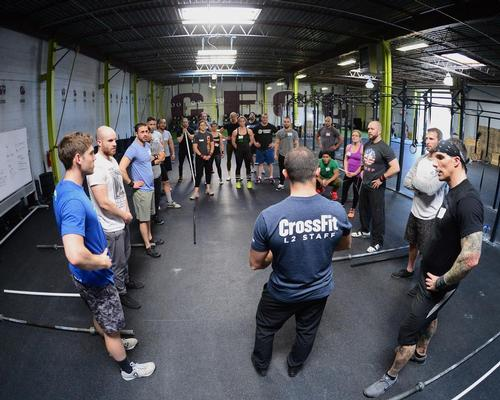 CrossFit was launched in 2000 and has since grown to encompass 14,000 affiliate gyms worldwide.
