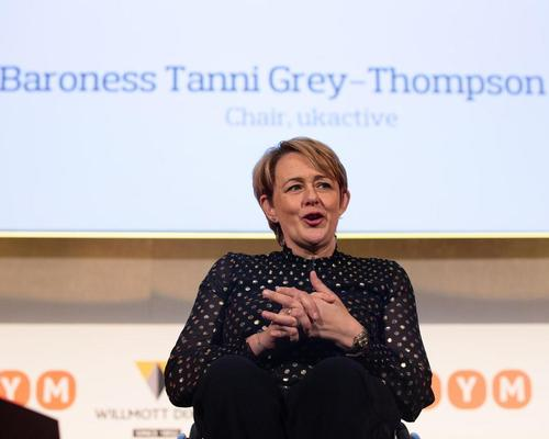 ukactive chair, Tanni Grey-Thompson opens the 2019 event. The event will be held online this year due to the pandemic