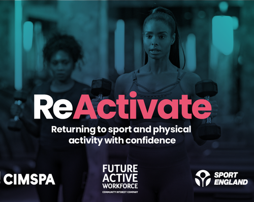 ReActivate will be free to use for 12 months for anyone working or volunteering in the sport and physical activity sector in England