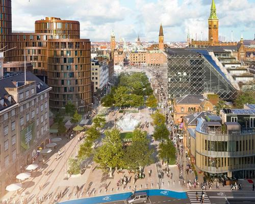 Olafur Eliasson, Gehl and Sebastian Behmann team up to turn Copenhagen road into car-free city park