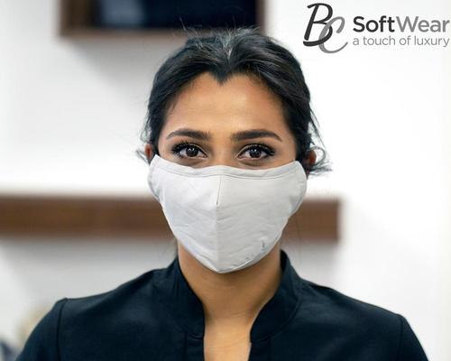 BC SoftWear develops natural cotton and triple layer face masks for washing and reusing