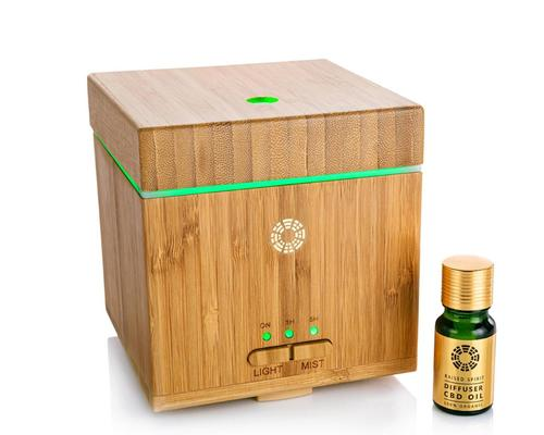 The diffuser has been developed to help provide a calming environment and improve overall physical and mental wellbeing