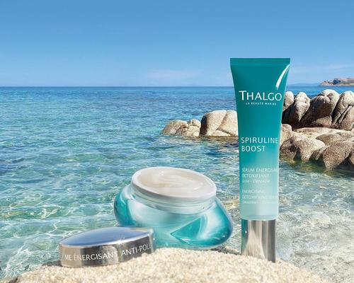The collection features a detoxifying serum, anti-pollution gel-cream and an energising eye gel