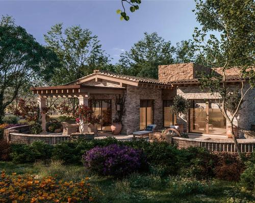 The vision for the project is focused on creating a thriving eco-friendly village that's designed to support health and wellbeing / Rancho La Puerta