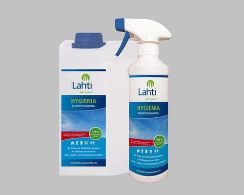 Lahti Sauna Produkte launches portable disinfectant spray for steamrooms and saunas