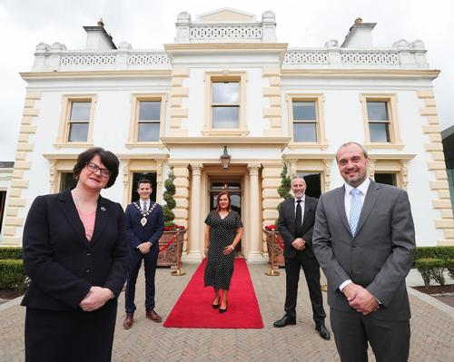 Northern Ireland's First Minister 'welcomes' revamped Galgorm spa after £2m investment