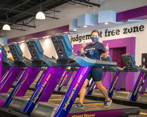 Planet Fitness introduced the requirement to wear face masks on 1 August