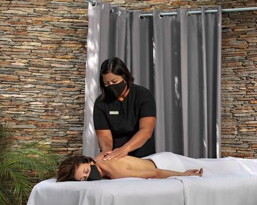 The package offers an open-air Swedish massage conducted in a new outdoor massage pavilion in Glen Ivy's Secret Garden