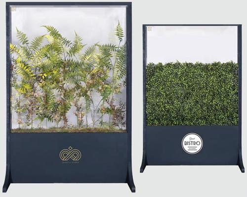 The range includes screens filled with plants, or featuring botanical graphics