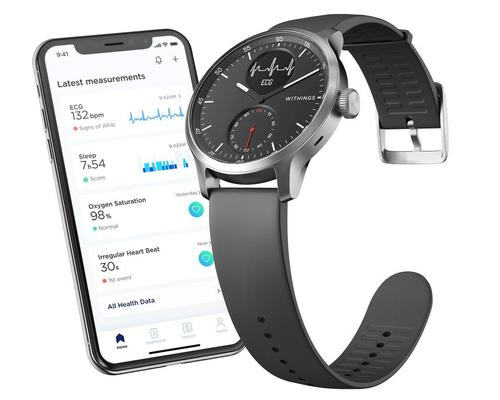 Withings' ScanWatch – featuring AFib and sleep breathing disturbance detection – is released in Europe