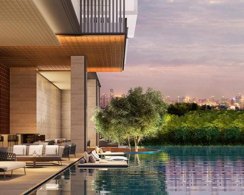 The hotel and residence will be home to a 1,500sq m Holistic Wellness Centre, including a fully integrated medical clinic, wellness lounge and spa house