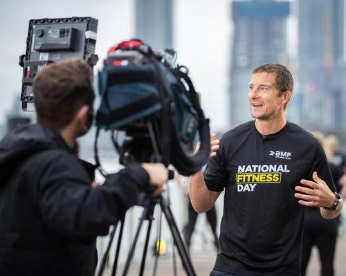 Bear Grylls leads activities on another successful National Fitness Day