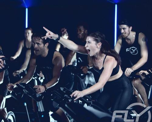 After launching in 2010 with studios in New York City, the company expanded nationwide, operating around 40 studios in cities across the US / Flywheel Sports