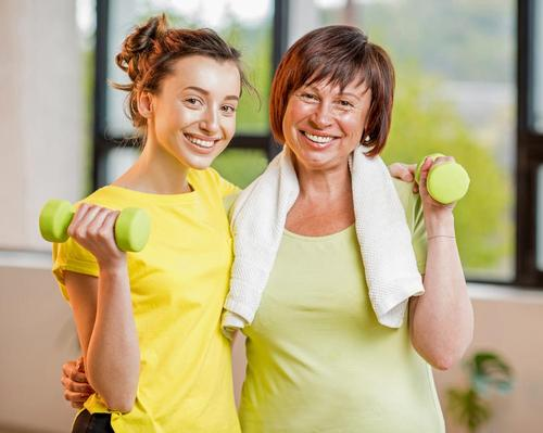 The campaign aims to help daughters and mums discover new ways of spending time with each other – by getting physically active