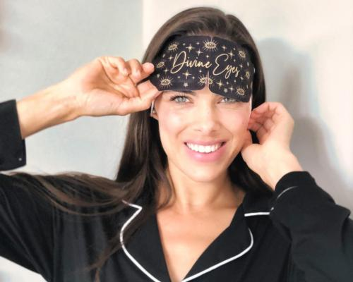 New Divine Eyes heated eye masks help ease tired eyes, headaches and stress