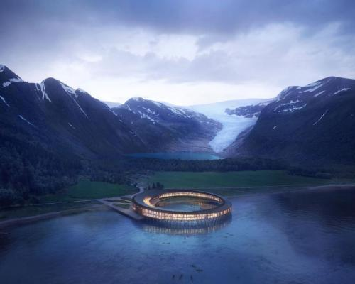 World's first energy-positive hotel and spa to be completed with interiors by Space Copenhagen