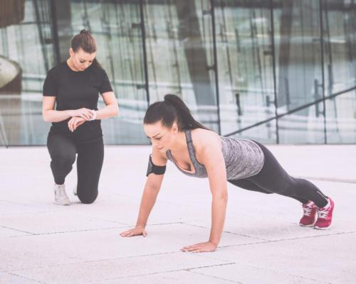 One to one personal training outdoors is thought to still be allowed