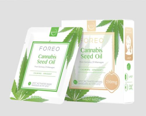 The formula is infused with 210mg of cannabis sativa seed oil, which, according to Foreo, makes the product one of the strongest cannabis masks on the market