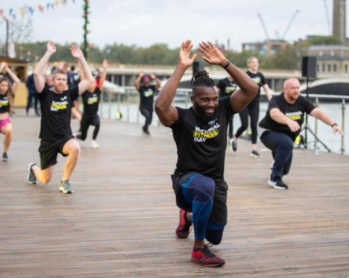 National Fitness Day 2020 breaks all records - 19.1 million people get active