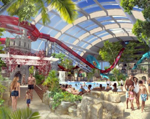 In total, the park will feature 14 separate attractions designed and manufactured by WhiteWater