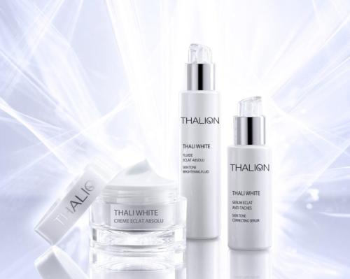 Thalion's brightening range rejuvenates skin and targets imperfections