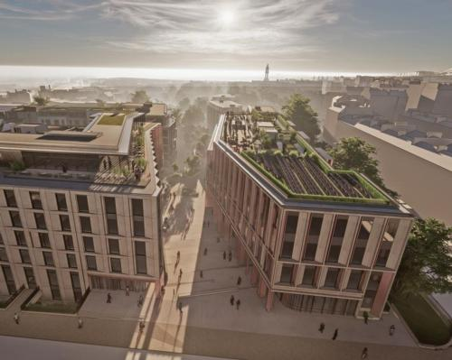 Plans for the New Town Quarter have been created by 10 Design / 10 Design