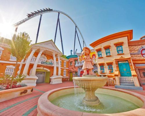 PortAventura in Spain won the best attraction award for its Sesame Street: Street Mission area / PortAventura/TEA