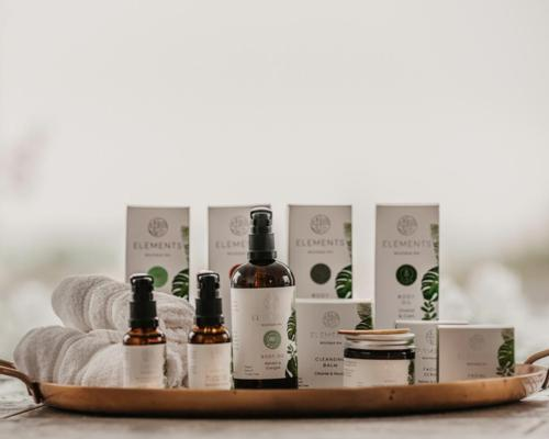 Elements Boutique Spa has developed a natural range that is vegan and cruelty-free