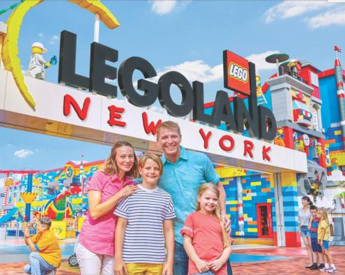The attraction will feature the largest Legoland theme park ever built, spanning 150 acres and several themed lands