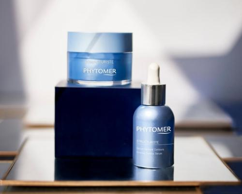 Phytomer has scented Structuriste with its signature soothing blend with notes of lily of the valley, jasmine and peony