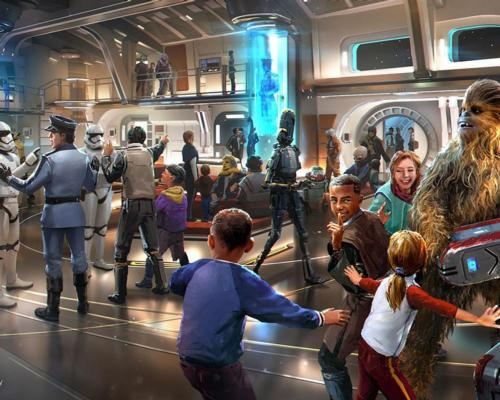 The attraction will offer each guest a unique experience, as the choices they make during the two-day stay will affect the exact nature of their 'journey' / Disney/Lucasfilm