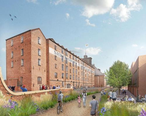 Flaxmill Maltings –the world's first cast-iron framed building – is to be redeveloped as a visitor attraction by Mather & Co