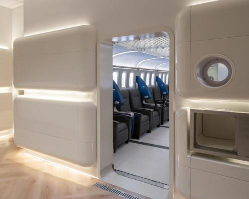 Studio Gad designs hyperbaric oxygen therapy chambers inspired by futuristic spacecraft