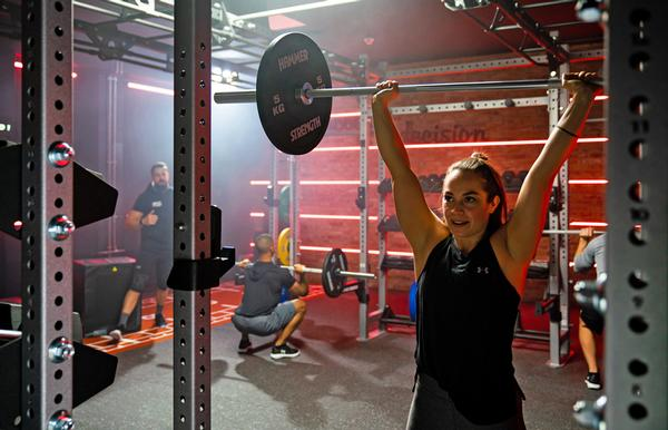 The new product is ideal for use in small group personal training / photo: life fitness