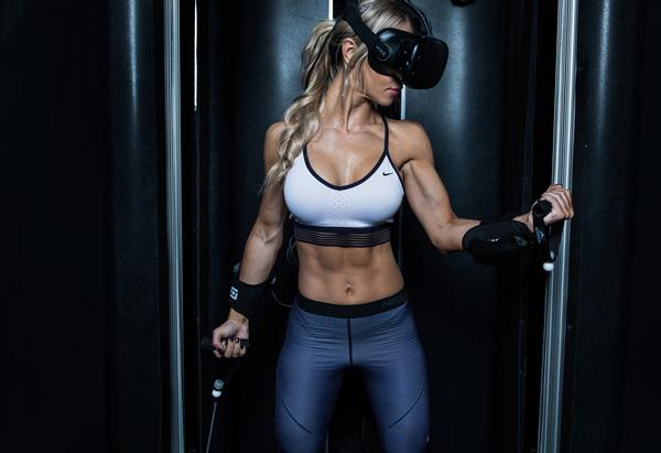 Black Box VR has partnered with EōS gyms to offer exclusive access to the system via a membership upgrade / photo: black box vr